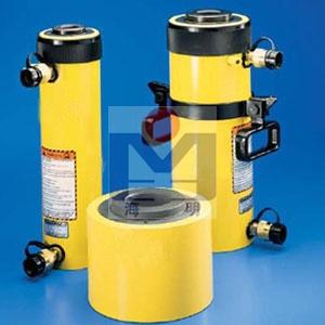 双作用中空柱塞液压缸